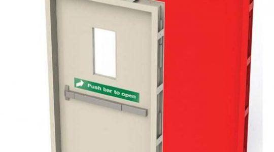ابعاد درب های ضد حریق