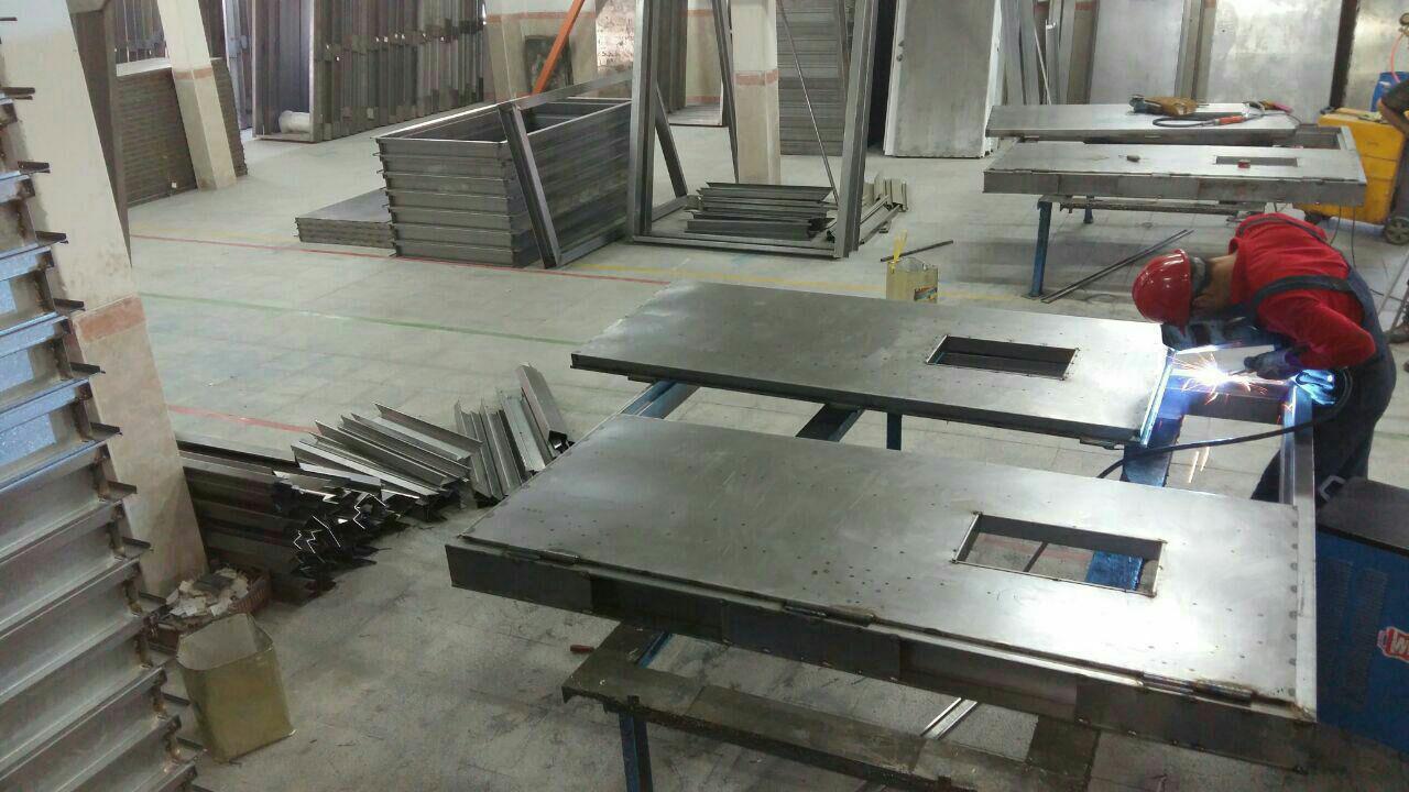 تولید کننده درب ضد حریق