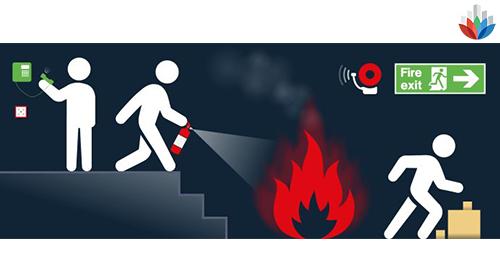 در زمان آتش سوزی چه اقداماتی باید انجام دهیم؟؟؟